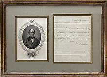Daniel Webster. ALS. 1820.