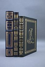3 Signed Easton Press: Gore Vidal, Dick Francis...