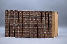 THE NOVELS OF DANEIL DE FOE. 12 Vols. 1809-1810.