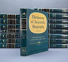 DICTIONARY OF SCIENTIFIC BIOGRAPHY. 16 Vols.