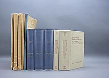 11 Vols incl: BOTANISCHE UND ZOOLOGISCHE...