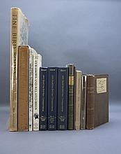 12 Vols incl: JOHN GOULD THE BIRD MAN... 3 Vols.