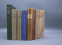 5 Vols incl: BIBLIOGRPAHIE ORNITHOLOGIQUE...
