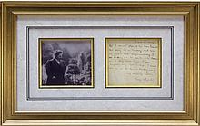 2 Signed Items: Amy Lowell + John Burroughs.