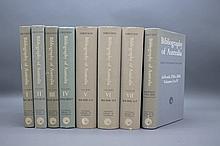 Ferguson. BIBLIOGRAPHY OF AUSTRLIA. 8 Vols.