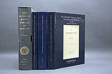 4 Vols incl: Horblit. ONE HUNDRED BOOKS FAMOUS...