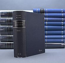 Stafleu and Cohen. TAXONOMIC LITERATURE. 15 Vols.