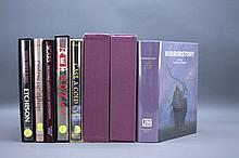 7 Vols incl: HORRORSTORY. Sgd by multiple authors.