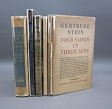 5 Books (1 Signed & inscribed by Gertrude Stein).