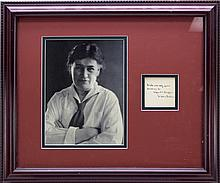 2 signed items: Willa Cather + Piotr Kropotkin.