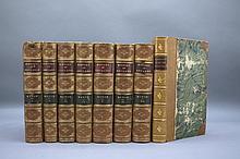 8 Vols incl: Mahon. HISTORY OF ENGLAND. 1836-1854.
