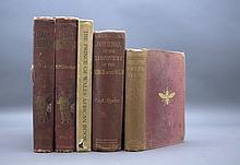 5 Vols incl: THROUGH THE DARK CONTINENT. 1899.