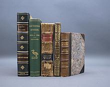 5 Books incl: TEN WEEKS IN NATAL. 1855. 1st ed.
