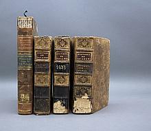 4 Vols incl: + HISTOIRE DE ACADEMIE ROYALE...
