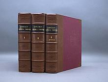...LUCIANI SAMOSATENSIS OPERA. 3 Vols. 1743.