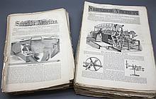 SCIENTIFIC AMERICAN. ~548 issues. 1863-1889.