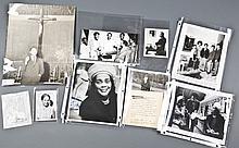 9 Photos: 3 signed by Coretta Scott King