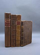 4 Books incl: THE GENTLEMAN FARMER. 1776.
