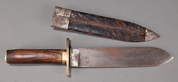 W.J. McElroy confederate knife. Having brass knuck