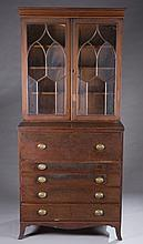 Baltimore Federal mahogany secretary desk .