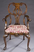 Chippendale armchair.