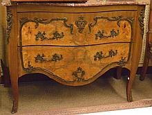 Louis XV style Napoleon 3rd Era marble top commode