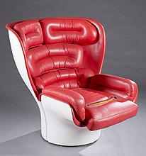 An Elda chair by Joe Colombo