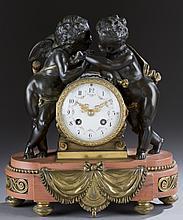 S. Marti et Cie mantel clock.