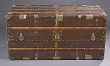 Antique Louis Vuitton steamer trunk.