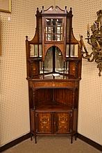 T. Simpson & Sons corner cabinet