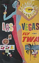 David Klein Poster of Las Vegas for TWA.