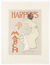 2 French lithographs, c.1900.