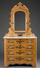 Painted cottage dresser, c.1870-1900, American.