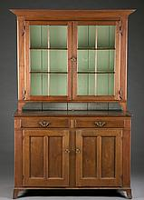 New England Stepback Cupboard, 19th century.
