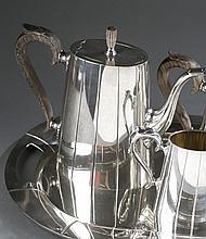 International sterling Art Deco Tea & Coffee set