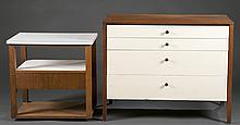 Florence Knoll dresser and nightstand.