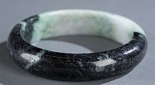 Chinese carved jade bangle.