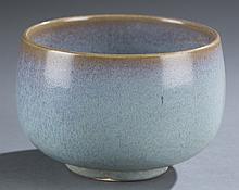 Chinese Jun glazed porcelain