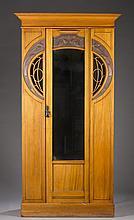 Scottish Art Nouveau wardrobe.