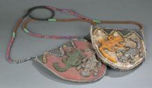 2 Yoruba beaded items. 20th century.