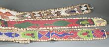 3 Beaded Yoruba belts. 20th century.