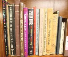 16 Books: Black Song History: Slavery to 20th C.