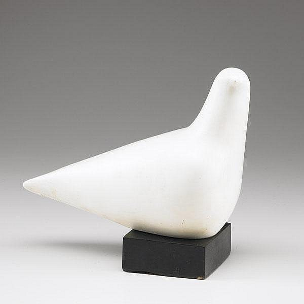 CLEO HARTWIG (American, 1911-1988) ''Dove,'' resin