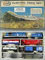 Model Railway: LIONEL 12800 B&M; TRAIN SET