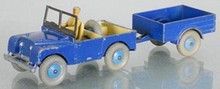 DINKY 340 LAND ROVER SET