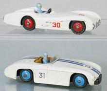 2 DINKY RACE CARS