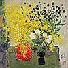 PANG Jiun (Chinese, b. 1936)  - Spring Flowers