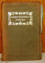 Robert Browing's Poems; Browing, Robert; 1896