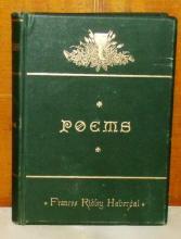 Poems of Frances Ridley Havergal; Havergal, Frances Ridley; 1881