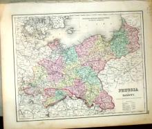 Colton's General Atlas; Colton, G. Woolworth; 1870
